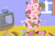 Свинка Пеппа после прогулки