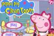 Свинка Пеппа убирает в комнате