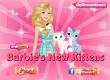 Барби ухаживает за котиками