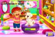 Даша и щенок